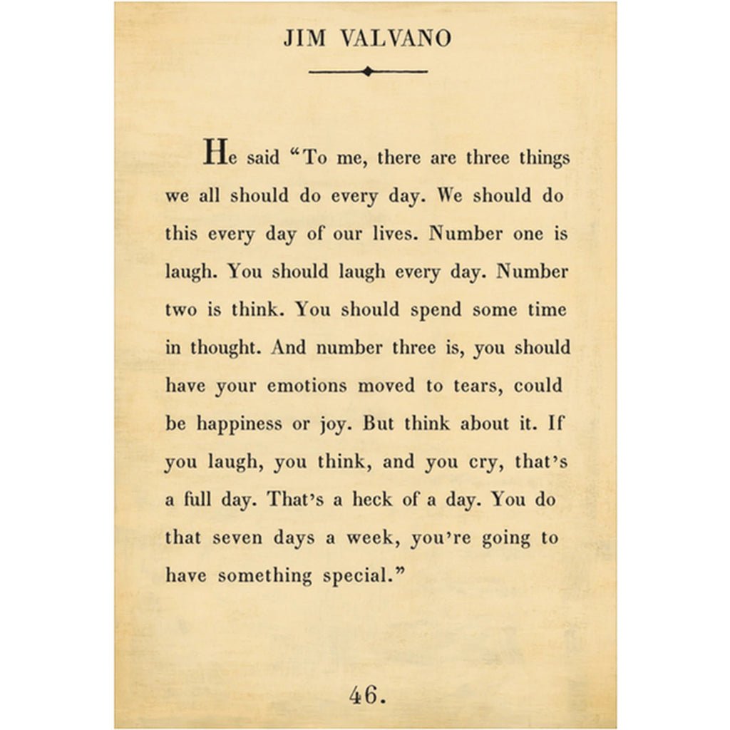 Sugarboo Designs Jim Valvano Book Collection Sign (Gallery Wrap) - Lavender Fields