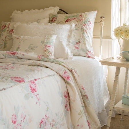 Taylor Linens Shore Rose Cream Duvet