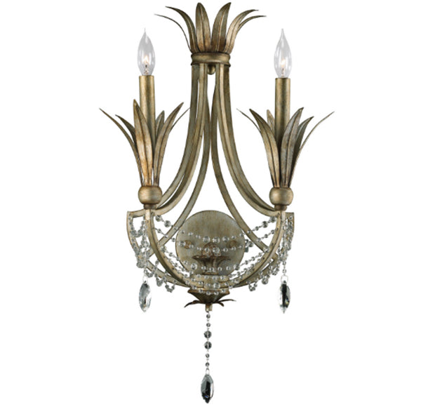 Cyan Design Luciana Two Light St. Regis Bronze Wall Sconce - Lavender Fields