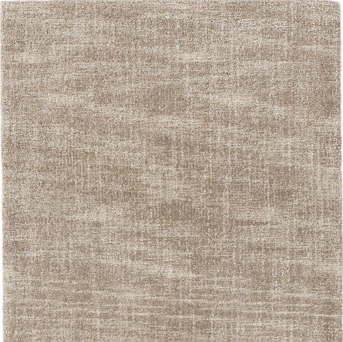 Dash and Albert Crosshatch Sand Wool Micro Hooked Rug - Lavender Fields