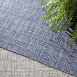 Dash and Albert Fusion Blue Indoor/Outdoor Rug - Lavender Fields