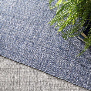 Dash and Albert Fusion Grey Indoor/Outdoor Rug - Lavender Fields
