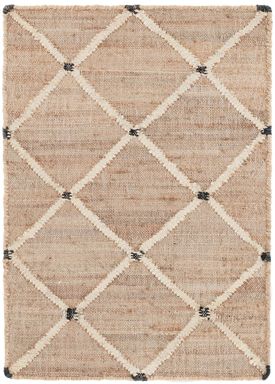 Dash and Albert Kali Woven Jute Rug - Lavender Fields