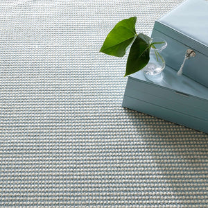 Dash and Albert Pixel Sky Woven Sisal/Wool Rug