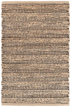 Dash and Albert Simba Black Woven Jute Rug - Lavender Fields