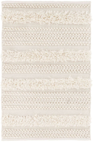 Dash and Albert Zhara Stripe Ivory Indoor/Outdoor