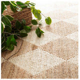 Dash and Albert Harwich Natural Woven Jute Rug - Lavender Fields