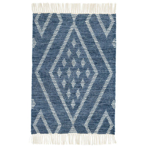 Dash and Albert Healy Blue Woven Wool Rug