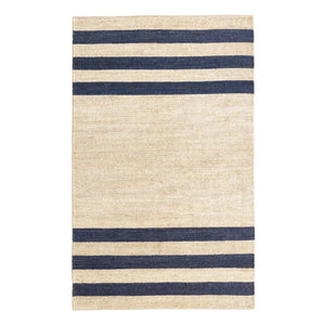 Dash and Albert Ipswich Blue Woven Jute Rug