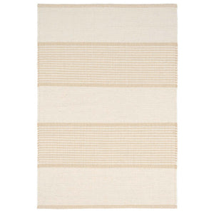 Dash and Albert La Mirada Wheat Woven Cotton Rug - Lavender Fields