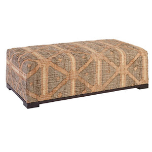 Dash and Albert Rumi Upholstered Rug Bench - Lavender Fields