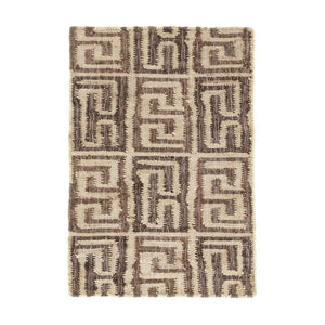 Dash and Albert Auricula Woven Jute Rug - Lavender Fields