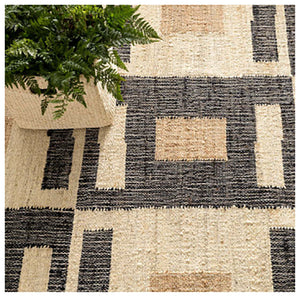 Dash and Albert Cassia Woven Jute Rug - Lavender Fields