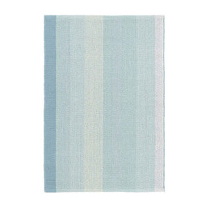 Dash and Albert Shore Stripe Woven Cotton Rug - Lavender Fields