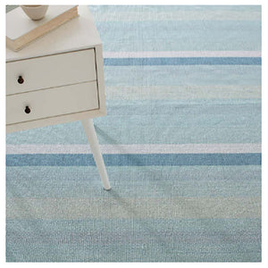 Dash and Albert Shore Stripe Woven Cotton Rug