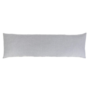 Pom Pom at Home Carter Body Pillow with Insert Ivory/Denim