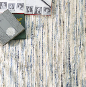 Dash and Albert Denim Rag Woven Rug