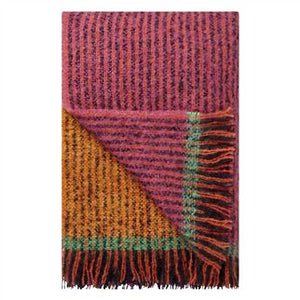 Designers Guild Katan Fuchsia Throw - Lavender Fields