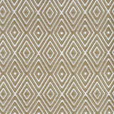 Dash and Albert Diamond Khaki/White Indoor/Outdoor Rug