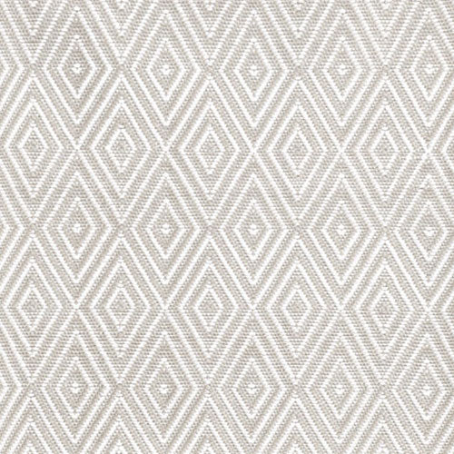 Dash and Albert Diamond Platinum/White Indoor/Outdoor Rug - Lavender Fields