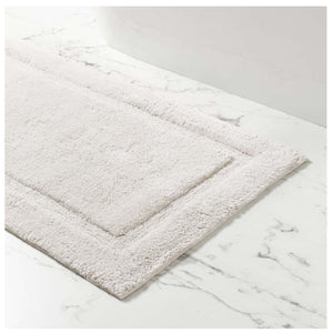 Pine Cone Hill Classic Dove Grey Bath Rug - Lavender Fields