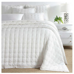Pine Cone Hill Comfy Cotton Dove White Puff - Lavender Fields