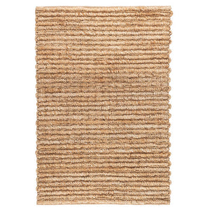 Dash and Albert Dunes Natural Woven Jute Rug - Lavender Fields