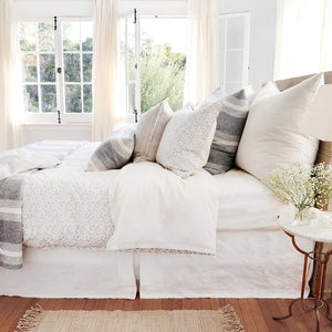 Pom Pom at Home June Ocean/Grey Duvet