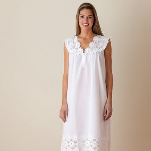 Jacaranda Living Eloise Nightgown - Lavender Fields