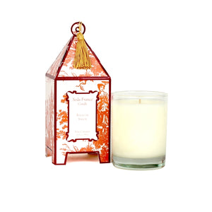 Seda France Epices de Saison Classic Toile Pagoda Box Candle - Lavender Fields