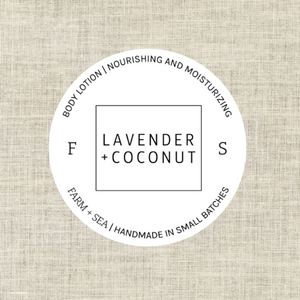 Copy of Farm + Sea Lavender and Coconut Body Lotion