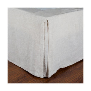 Pom Pom at Home Flax Pleated Linen Bedskirt