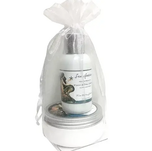 Sea Goddess Foot Scrub and Creme Set - Lavender Fields