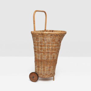 Pigeon & Poodle Chambery Rattan Cart