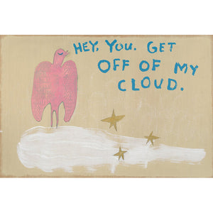 Sugarboo Designs Get Off of My Cloud Art Print (Gallery Wrap)