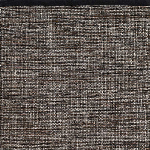Dash and Albert Grant Black/Brown Woven Cotton Rug - Lavender Fields