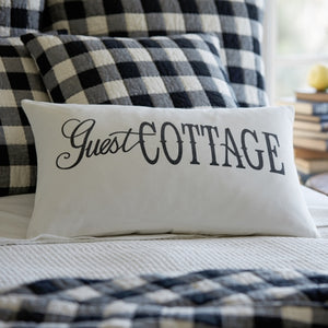 Guest Cottage Pillow - Lavender Fields