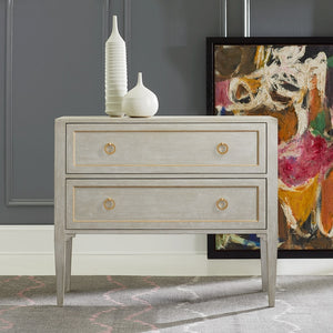 Modern History Gustavian Two Drawer Chest