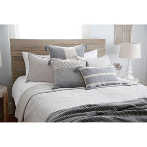 Pom Pom at Home Harbour Matelasse Taupe Coverlet - Lavender Fields