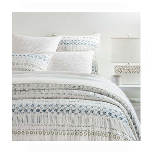 Pine Cone Hill Hawthorn Coverlet - Lavender Fields