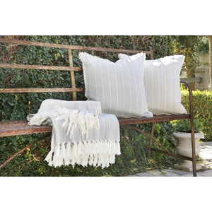 Pom Pom at Home Henley Sky Throw - Lavender Fields