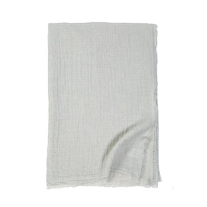 Pom Pom at Home Hermosa Ocean/Cream Oversized Throw - Lavender Fields