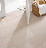 Dash and Albert Herringbone Linen/White Indoor/Outdoor Rug