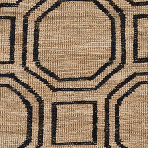 Dash and Albert Hexile Hand Knotted Jute Rug