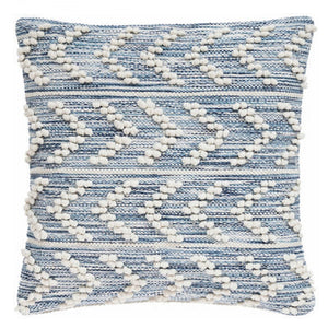 Fresh American Hobnail Herringbone Indoor/Outdoor Decorative Pillow