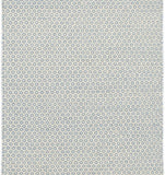 Dash and Albert Honeycomb French Blue/Ivory Wool Woven Rug - Lavender Fields