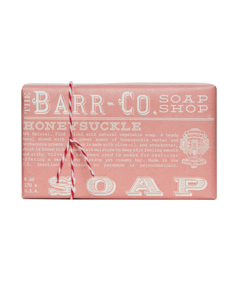 Barr-Co. Honeysuckle Triple Milled Soap