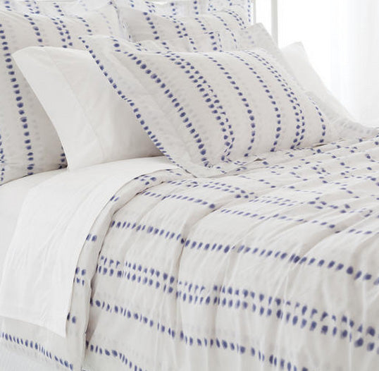 Pine Cone Hill Ink Dots Duvet Cover - Lavender Fields
