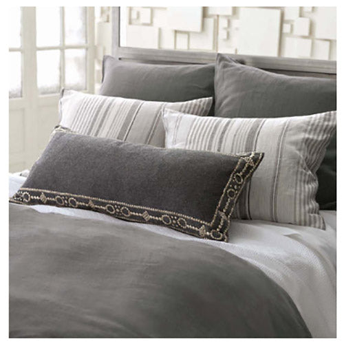 Pine Cone Hill Interlaken White Matelasse Coverlet - Lavender Fields
