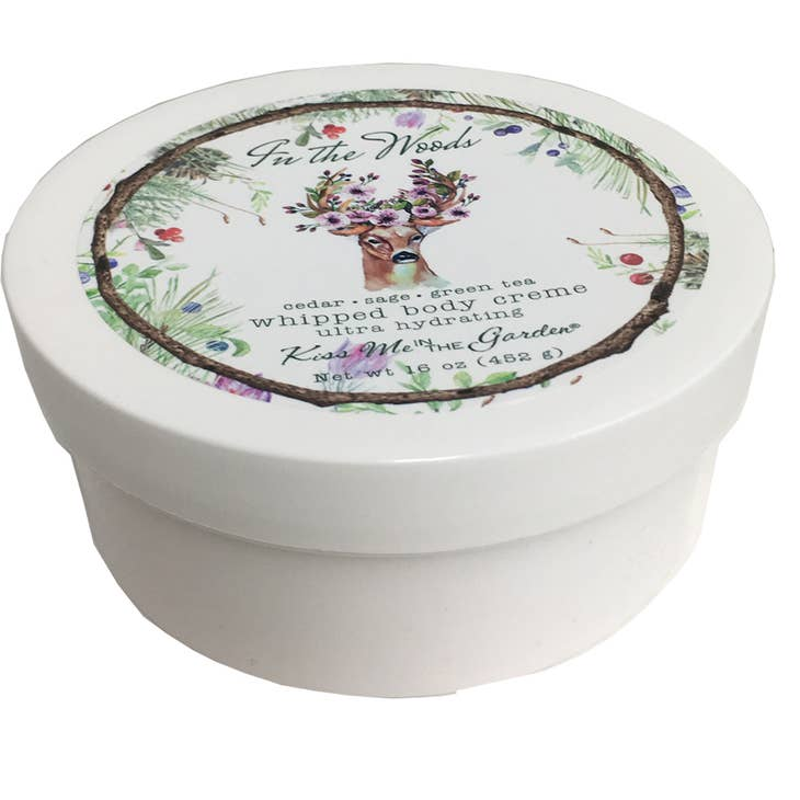 In The Woods Whipped Body Creme 16 oz - Lavender Fields